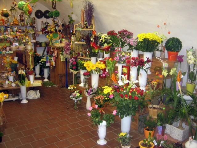 Prodejna  Květiny ve dvoře
